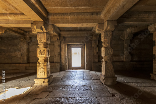 Ancient civilization in Hampi.