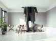 Leinwanddruck Bild - the man , breaking the ceiling