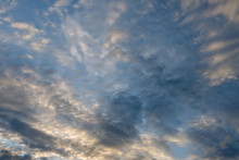 Dramatic Summer Clouds View, Abstract Background/ Overlay