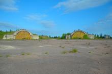 Russia. Leningrad Region, Veshchovo 09,06,2012 Abandoned Military Airfield In Veshchevo