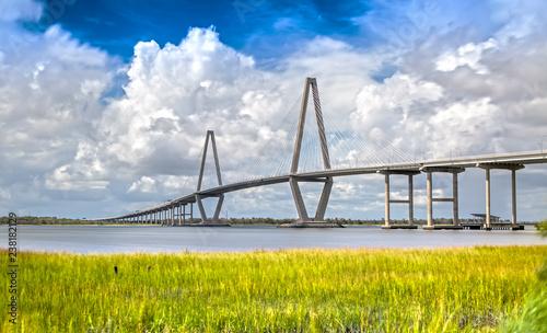 Arthur Ravenel Bridge in Charleston, SC Canvas Print
