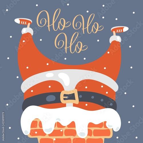 Fotografie, Obraz  Merry Christmas greeting card