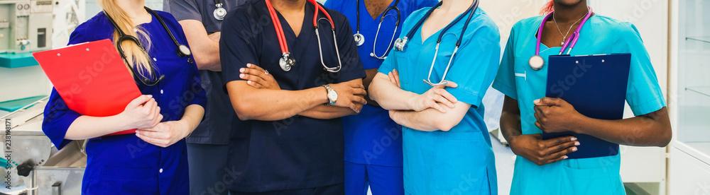 Fotografie, Obraz medicine professionals staff