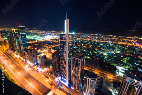 Photo  Dubai in the United Arab Emirates - Financial District