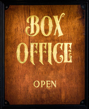 Traditional Wooden Box Office ...
