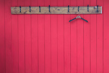 Wooden Clothes Hangers With Co...