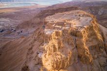 Masada National Park In The De...