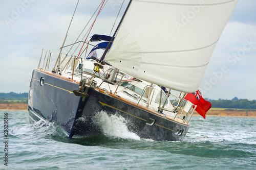 Foto auf Leinwand Segeln Sailing Boat Yacht
