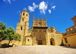 canvas print picture - Huesca Kathedral in Aragonien, Spanien -  Huesca cathedral in Spain