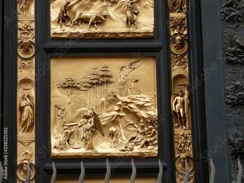 Foto  Puerta del Paraíso, la puerta este del Baptisterio de Florencia