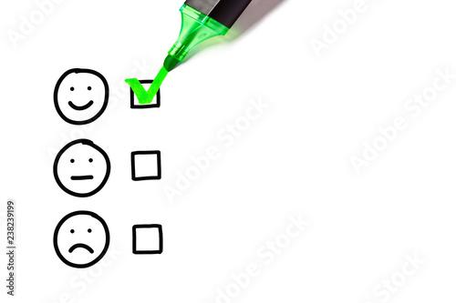 Fotografía  Blank Excellent Customer Service Evaluation Form