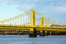Yellow Bridges Over The Allegh...