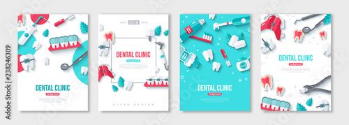 Fotomural Dentistry posters set
