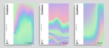 Vibrant Gradient Holographic Background
