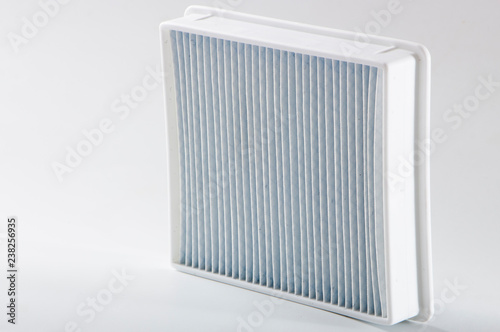 Fotografía  dirty dust filter. vacuum cleaner filter close up