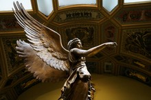 Winged Victory Ancient Sculpture Of Nika