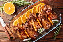 Grilled Quails Stuffed With Mushrooms