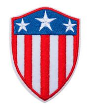 USA Flag Shiled Badge