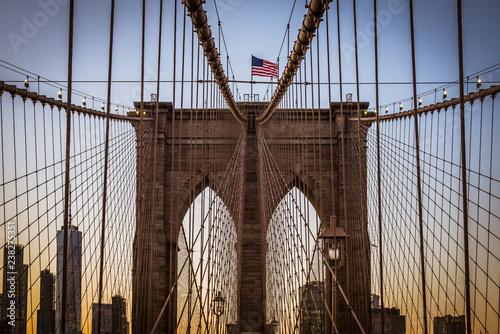 Photo  Brooklyn Bridge NYC