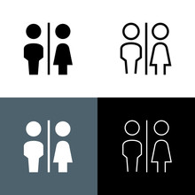 Restroom Icon Set
