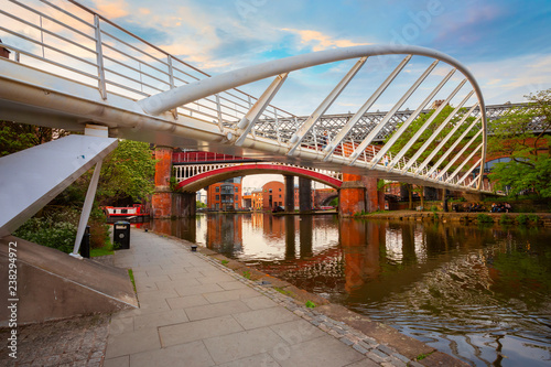 Valokuva Castlefield - inner city conservation area in Manchester, UK