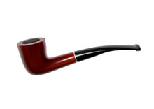 Smoking Pipe In The Vector.Smoking Pipe. Vector Illustration.Old-fashioned Smoking Pipe.