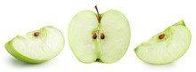 Apple Fruits With Leaf