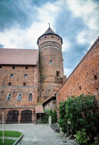 Papiers peints Con. ancienne Ordensburg castle in Olsztyn, Poland