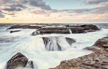 Potter Point Lower Rock Shelf Tidal Ocean Flows