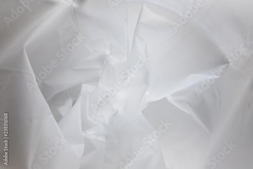 Abstract texture of a crumpled ethylene-vinyl acetate (EVA) material Fototapet