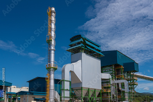 Photo Biomass Power Plant