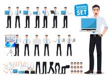 Male Business Person Vector Ch...