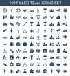 100 team icons