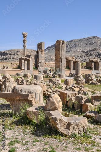 Fotografia  Ruins of ancient Persepolis, Iran