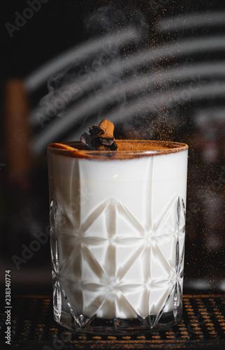 Poster Cocktail alcogolic milkshake