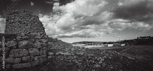 Nuraghe Is Paras - Isili - an archeological site of Isili, a town in the histori Wallpaper Mural