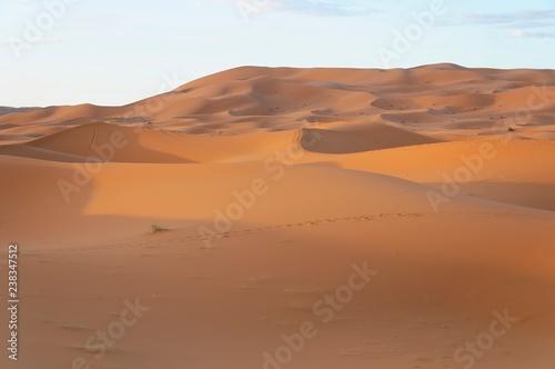 Poster Afrique Wüste Erg Chebbi, Merzouga, Marokko, Afrika
