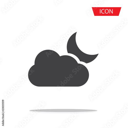 Fényképezés  Partly cloudy icon