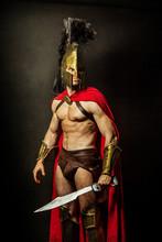 Portrait Of A Spartan Soldier