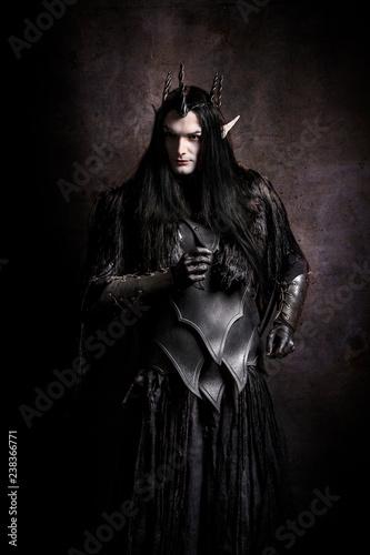 Fotografie, Tablou  Black Elf