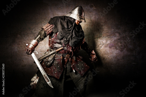 Photo  Portrait of a Knight