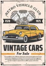 Retro Cars Sale, Rental And Repair Service