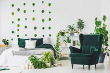 Emerald Green Comfortable Armc...