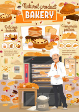 Bakery Bread And Desserts, Bak...