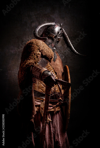Photo  Portrait of a Viking