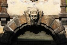 Bas-relief Devil Head
