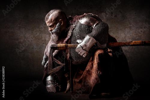 Photo  Portrait of a dwarf