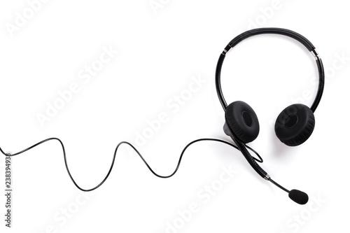 Obraz na plátně Helpdesk headset