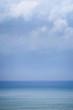 Blue sea in a blue background