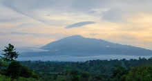 Scenic View Of Mount Cameroon ...